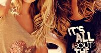 Pretty, golden waves. I love the color. && with the length? its a perfect match!