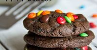 Chocolate M Cookies | Dinners, Dishes, and Desserts