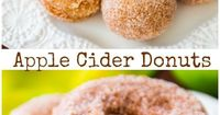 Super-moist, soft, and perfectly apple cider flavored for cozy fall mornings!