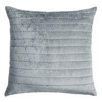 Channel Mineral Velvet Pillow by Kevin O'Brien Studio $153.00