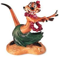 The Lion King - Timone - Luau - Walt Disney Classics Collection - World-Wide-Art.com - $100.00 #WDCC #Disney