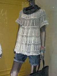 Tunic. With pattern. This is so pretty. Wish I could see the neckline.