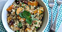 Quinoa with Roasted Butternut Squash and Pecans