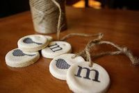 Oleander and Palm: DIY Christmas Ornaments: Salt Dough | these are so cool!