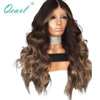 Ombre Layered Color Wavy Brazilian Hair $325.04