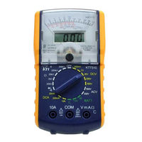 KT7310 Authentic Precision Digital Dual Display Analogue Multimeter Tester