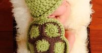 turtle baby- I want to learn how to make this for my sister the next time she has a baby! haha