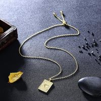 Cards Of Hearts Necklace in 18K Gold Plated $75.00 Free Shipping