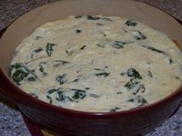 This warm low carb spinach cheese dip is loaded with healthy baby spinach. Makes a great appetizer when served with low carb veggies, chips, or pork rinds.