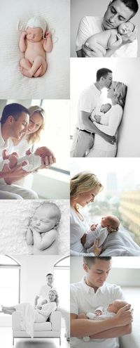 newborn pictures, white outfits and newborn photography.