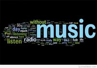 Listen music quote on radio
