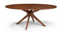 Conan Oval Dining Table - Wood Tables - Bryght | Modern, Mid-Century and Scandinavian Furniture