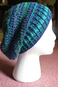 Neely Slouchy Hat By Kristina Olson - Free Crochet Pattern - (ravelry)