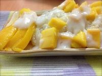 We Have a Lovely Home: Classic Scrumptious Thai Sticky Rice With Mango
