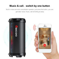 Beecaro S41B Portable Outdoor bluetooth Stereo Bass Speaker with 1200mAh Battery Support FM Radio Mic