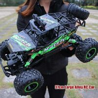 Hipac 1:12 4WD RC Car Updated Version 2.4G Radio Control Car Toys Buggy Off Road Remote Control Truck $128.97