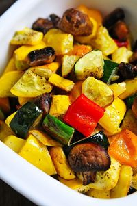 Roasted Vegetables Recipe - Cooking | Add a Pinch | Robyn Stone