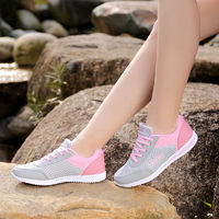 Summer Zapato Women Breathable Mesh Shoes For Women Soft Casual Flats $32.98