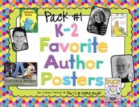 These colorful posters are perfect for introducing children's book authors to your students. I print out the posters and paste on patterned scrapbook paper and laminate. They create the favorite authors wall in my second grade classroom. You can see a...