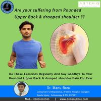 Do these exercises regulary and say good bye to your rounded upper back & drooped shoulder pain for ever  https://www.orthosport.in/service/shoulder-arthroscopy-in-gurgaon/