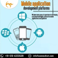 Are you looking mobile apps designing Service Company? Your search ends here Commediait leading Mobile application development and designing services Provider Company. We have professional team provide best mobile apps that are rich in feature and functio...