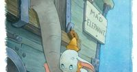 Dumbo was Ashley's favorite Disney movie when she was little. I lost count of how many times we watched it!