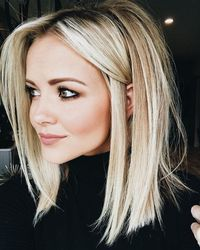 Not too short and not too long, medium length hairstyles are cute for women falls right in the perfect spot! Shoulder length haircuts are a trendy style because
