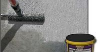 Textured Acrylic Concrete Coating. Need to check into using this to coat foam. Use on foam tombstones!