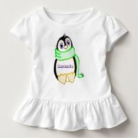Personalized Perky Penguin Dress