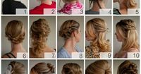 I guess I should start thinking about my hair too... Hmmm... Number 11 is pretty, and there are lots of pretty ones on this page.