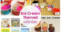 Ice Cream Themed Kids Activities - Printables, recipes, activities - My kids will love doing these this summer!