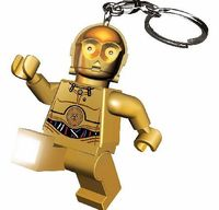 Lego C3PO Star Wars Keylight We definitely want to C-3Pown this fab find! Star Wars fans are going to love this wicked keychain with features LED light up feet in the form of the golden robot, C-3PO! http://www.comparestoreprices.co.uk//lego-c3po-star-war...