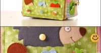 Unbelievable! Busy book made as a cube with incredible detail.