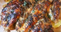This crisp, juicy spatchcocked chicken gets roasted to sweet-and-sour Provençal perfection with lavender, thyme, olive oil, butter, lemon, and honey.