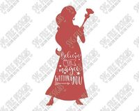 Elena Disney Word Art Cut File Set in SVG, EPS, DXF, JPEG, and PNG