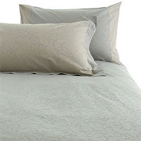 John Lewis Reed Duvet Cover, Blue Haze, Kingsize Wonderfully soft to the touch, the soothing pastel blue and contrasting light silver patterning of this bed linen provides a calming influence for your bedroom. Single duvet cover to fit 135cm x 200cm http:...