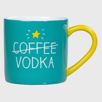 Mug Coffee Vodka Happy Jackson £8.99