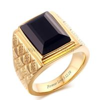 Gold Plated Mens Wedding Ring with Custom Names 18mm https://www.gullei.com/gold-plated-mens-wedding-ring-with-custom-names-18mm.html