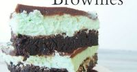 So my neighborhood swanky grocery store has had what they call an Andes Mint Brownie on display for the past month. It is approximately the size of my face. So