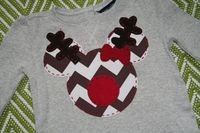 Christmas Mickey Shirt, Rudolph Mickey, Disney Vacation Shirt, for your little Mickey or Minnie Mouse