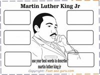 Free Printable Martin Luther King Jr Activity Sheets for kids. coloring pages Martin Luther King day word search.martin luther king quotes.i have a dream