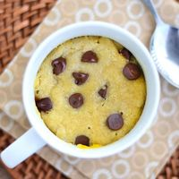 Gluten Free Chocolate Chip Cookie in a Cup!
