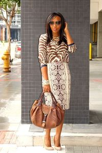 NuSophisticate: Animal Print Mixing