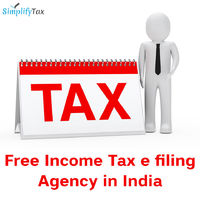 Simplify Tax is the free income tax e-filing agency in India. This firm performs all tax calculation, income tax return filing, income tax deposit and various other income tax related tasks by our Chartered Accountant team. Know more call: +91-931-303-279...