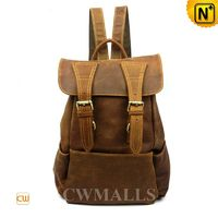 Leather Travel Backpack for Women CW253306