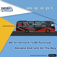 Punctuality with Safety is Our Aim - Saini Travels