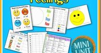 Feelings Unit. Beginning Sound - Your child to focus in on the beginning letter sounds. Count & Color: Feelings. Feelings Sort- Feeling words afraid, happy, mad & sad. Beginning Writing: practice tracing. Spin & Graph: Feelings. This activity ...