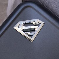 "Superman 3D Chrome Auto Emblem - (4.2"" x 3"") - Decal For Cars, Trucks, SUVs $19.99"
