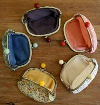 Tutorial for smooth ball clasp coin purses