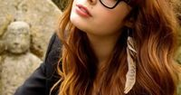 oohhh mygosh. THIS is my perfect dream hair. Bangs>>length>>color is awesome too, but I can't color my hair.